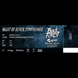 [TICKET] Night of Black...